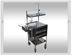 Phlebotomist Trolley